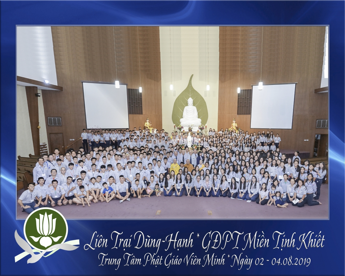Trại Dũng Hạnh Group Pic in DharmaHall